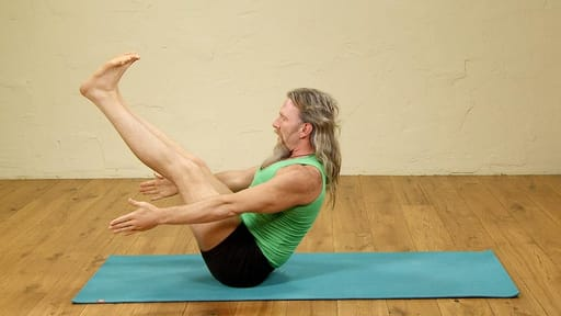 Video thumbnail for: Yoga for core strength