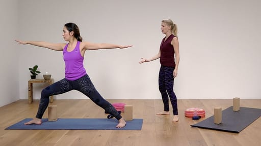 Video thumbnail for: Yoga for Beginners Course Class 8 - A complete yoga practice