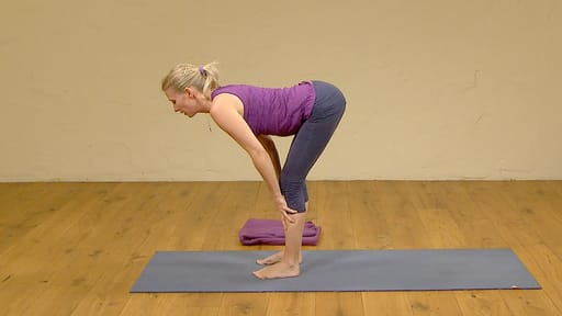 Video thumbnail for: Hatha yoga for beginners 1: warm up