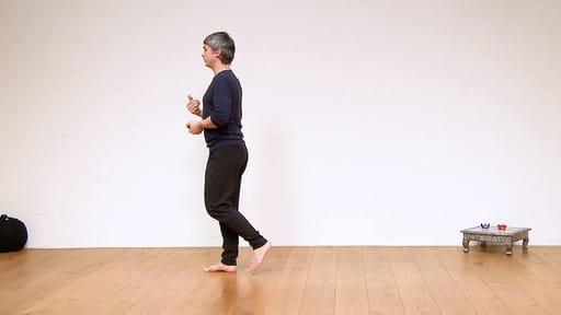Video thumbnail for: Walking meditation