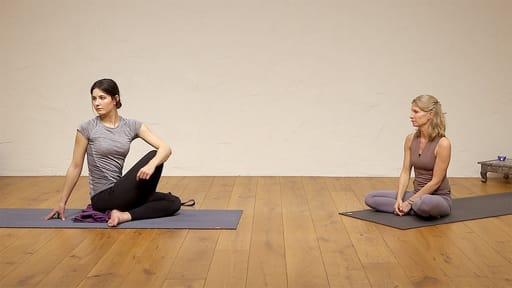 Video thumbnail for: Yoga for spinal health and flexibility