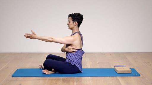 Video thumbnail for: Pilates Fundamentals: Shoulder girdle