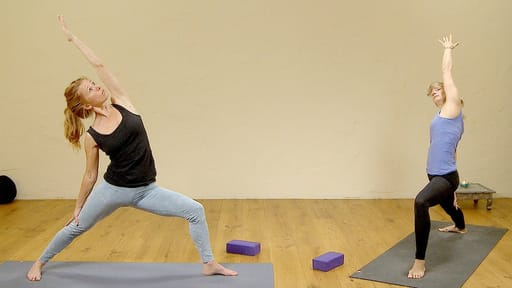Video thumbnail for: Yoga quickie: warming wake up flow