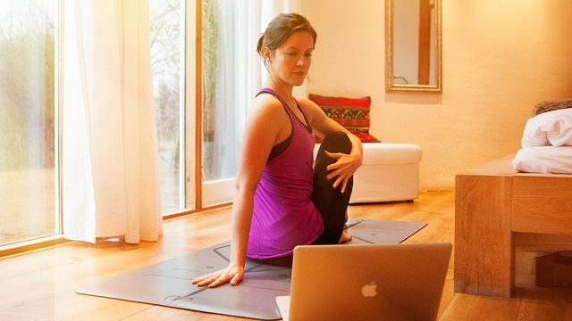 Thumbnail for program: Home Yoga Retreat