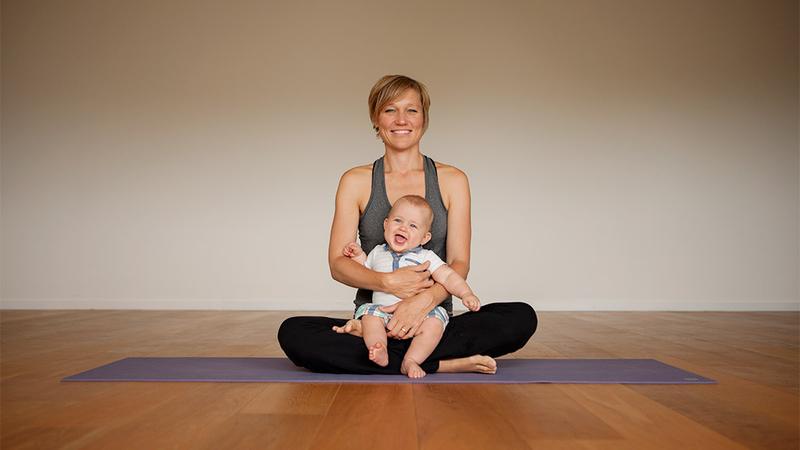 Thumbnail for program: Postnatal Yoga Program