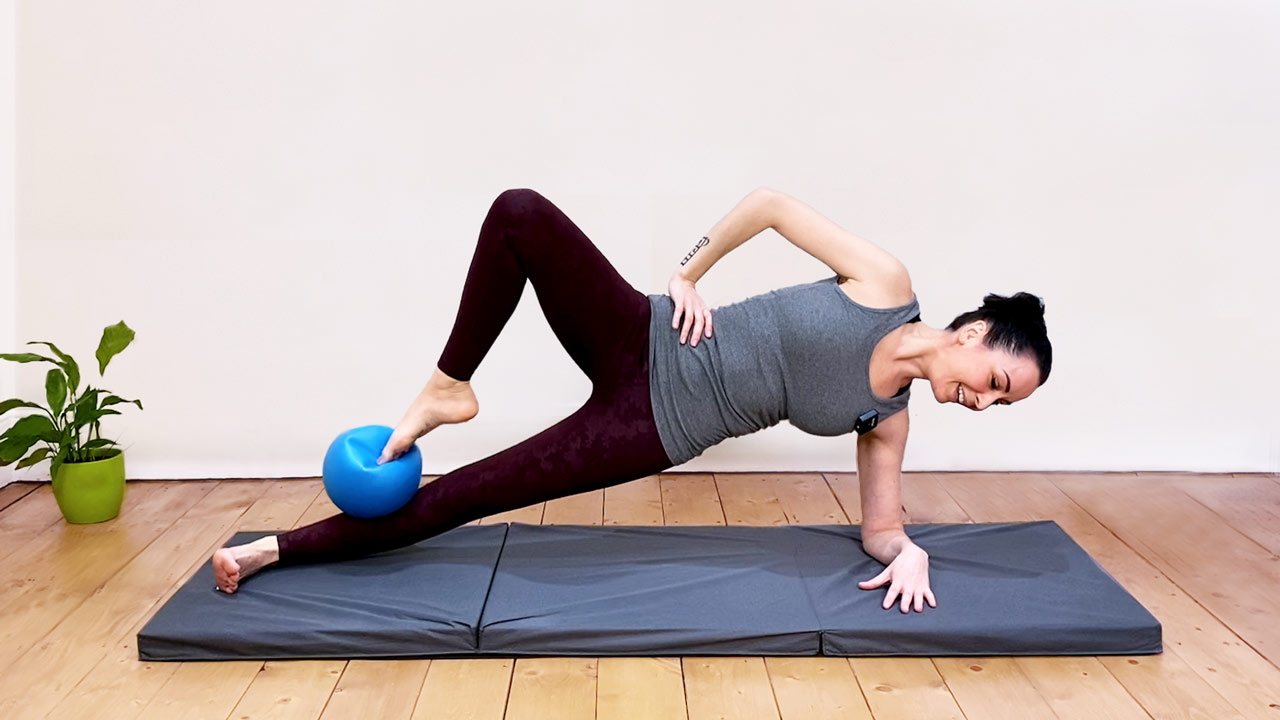 Pilates with the small ball