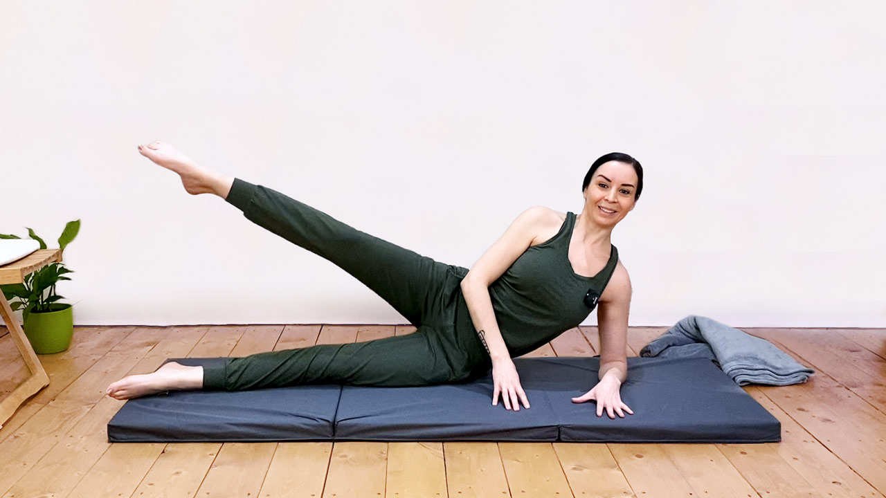 Pilates for desk workers
