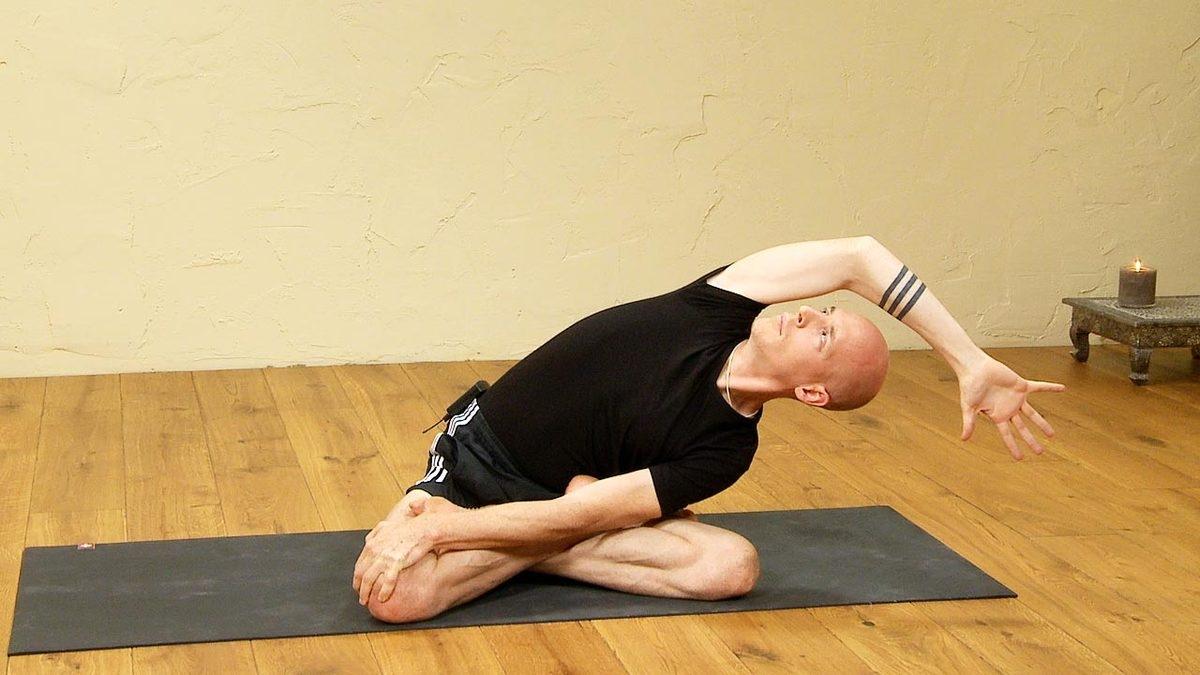 Yogic stretches & hamstrings