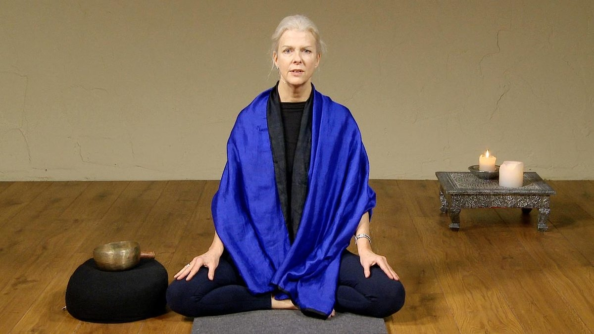 Checking in, meditation with Jill Satterfield