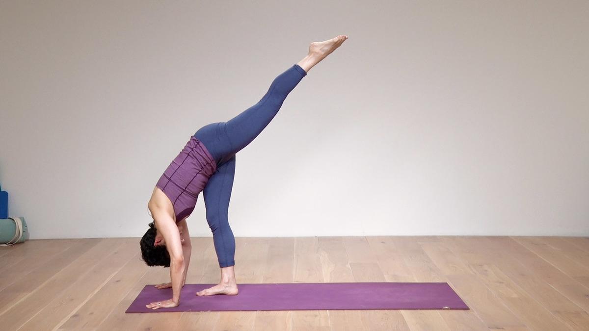 Straightforward yoga flow