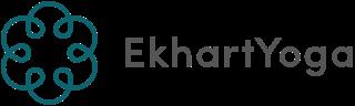 Ekhart yoga logo flower