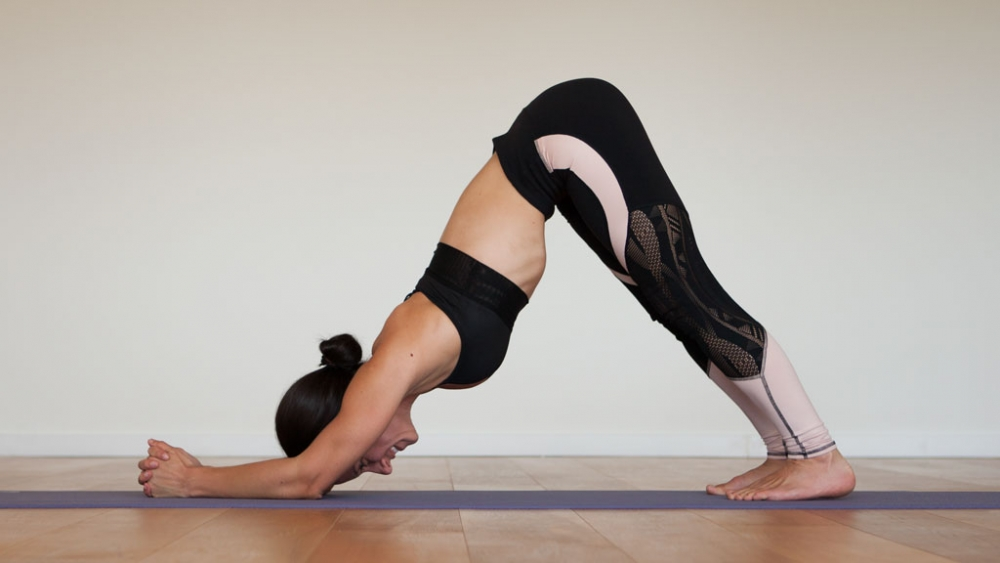 Dolphin, shoulder strengthening yoga