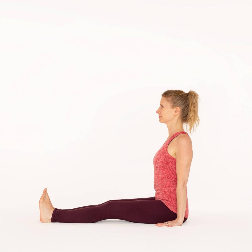 Staff Pose Dandasana Ekhart Yoga Ekhart Yoga