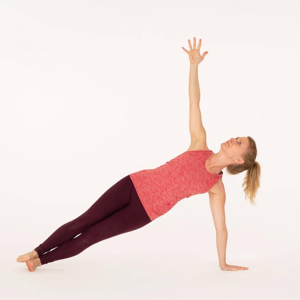 How To Do Vasisthasana Side Plank Pose Ekhart Yoga