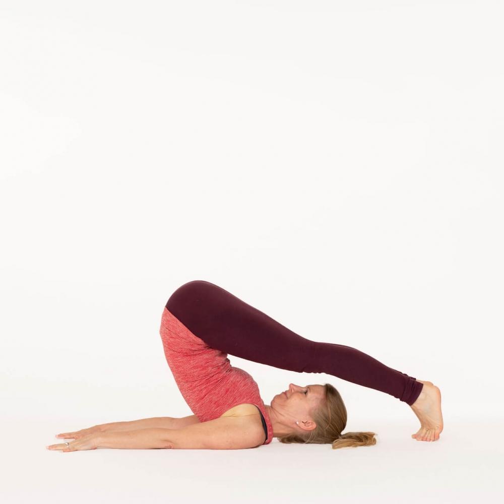 How To Do Plough Pose Halasana Ekhart Yoga