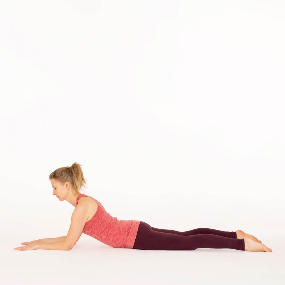 Sphinx pose - Salamba Bhujangasana Ekhart Yoga  Ekhart Yoga