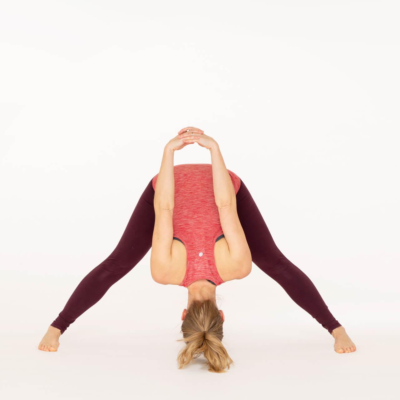 How To Do Wide Legged Forward Bend C-Prasarita